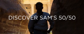 Discover Sam's 50/50
